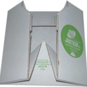 BJCP-Base de cartón automontable de fácil y rápido montaje