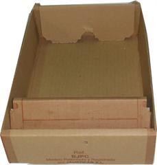 BJPC-Bandeja de cartón desechable con comedero incorporado para JPC y JPCC