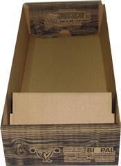 BJPP-Bandeja de cartón desechable con comedero incorporado para JPP y JPPN