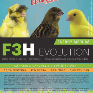 PIENSO LEGAZIN F3H ENERGY MEDIUM EVOLUTION