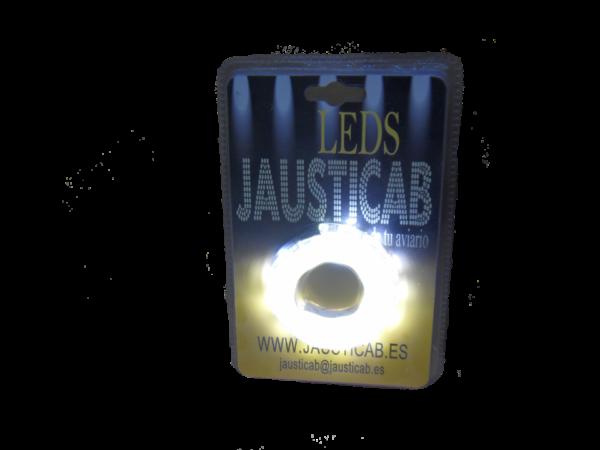 Set de tira LED de 1 metro para jaulas de Exposición con adaptador 12v