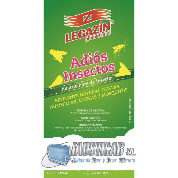 LEGAZIN ADIOS INSECTOS 250 ML