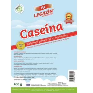 Legazin Caseína - suplemento proteico rico en aminoácidos 450 gr