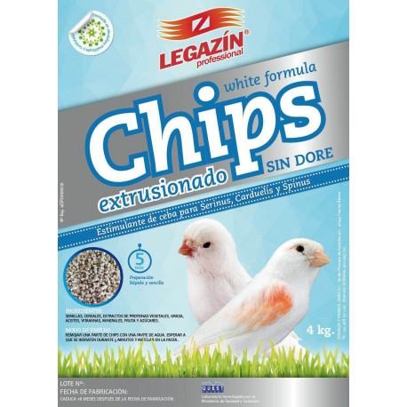 CHIPS LEGAZIN NATURALES 4 KG