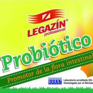 Legazin probiotico - promotor de la flora intestinal 200 GR