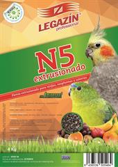 PIENSO LEGAZIN EXTRUSIONADO NINFAS 800 GR Y 4 KG