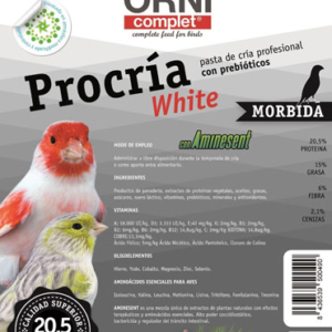 PASTA PROCRIA WHITE MORBIDA 4 KG. Y 7 KG