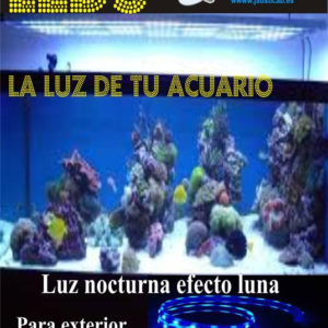 SET TIRAS LEDS PARA ACUARIO COMPLETO EFECTO LUNA. IP-65