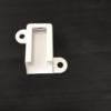 Terminal y fijación para canaleta de aluminio