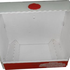 BJCET-Base de cartón total modelo Europeo con comedero interior frontal o lateral