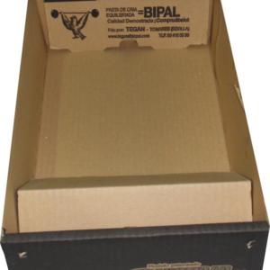 BJPG-Bandeja de cartón desechable con comedero incorporado para jaulas JPG y JPGC
