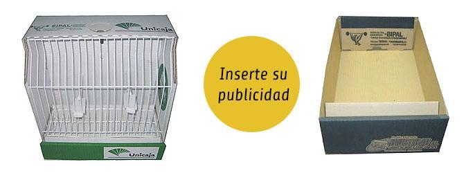 INFORMACION DE PUBLICIDAD EN JAULAS