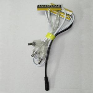 Kit de conexiones para tiras LED Jausticab. ELIJA SU MEDIDA