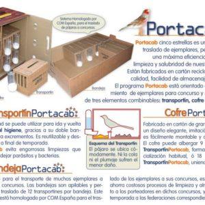 Cofre BOXCAB para desplazar 9 Portacab a los concursos
