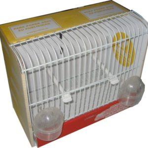 JCE4-Jaula mod. Europeo para comederos exteriores con puerta frontal