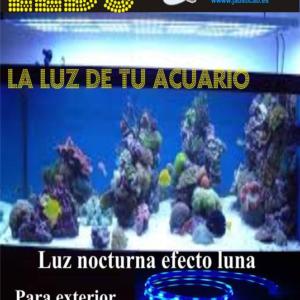 SET TIRAS LEDS PARA ACUARIO COMPLETO EFECTO LUNA. IP-20