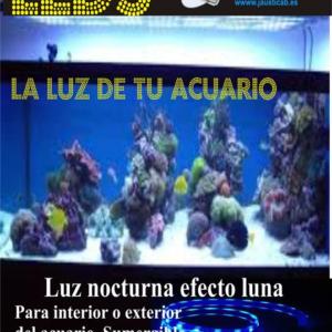 KIT TIRAS LEDS PARA ACUARIO EFECTO LUNA. SUMERGIBLE IP-67