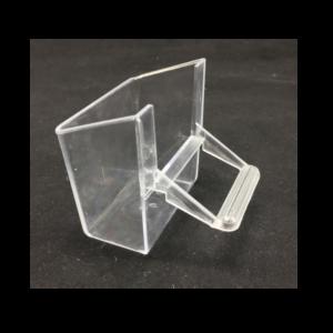 CP1-Comedero exterior transparente con posadero. De fácil rellenado sin extraer. OFERTA 4-10 UDS.