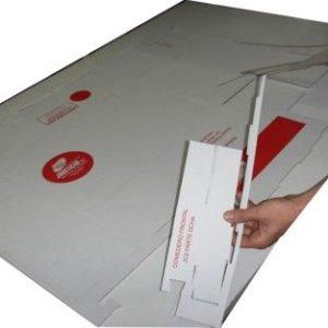 JCT-Jaula con base de Cartón Total con comedero interior frontal o lateral