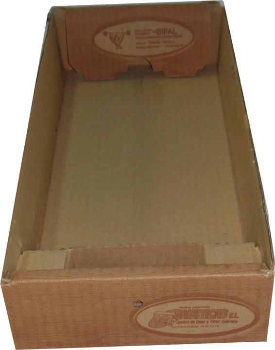 BJPM-Bandeja de cartón desechable con comedero incorporado para JPM