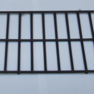 R5-Rejilla de plastico desechable negra para comedero interior frontal