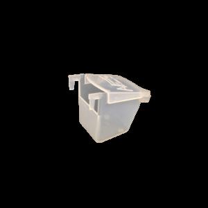 CAVEG- Comedero polipropileno exterior con ganchos