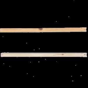 PM5C-Posadero de madera con media caña de 46 cm. OFERTA 4 Y 10 UDS.