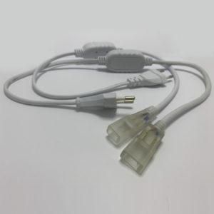 Conexión de corriente para tiras led